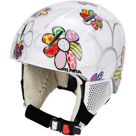 Alpina Carat LX Ski Helmet Kids patchwork-flower
